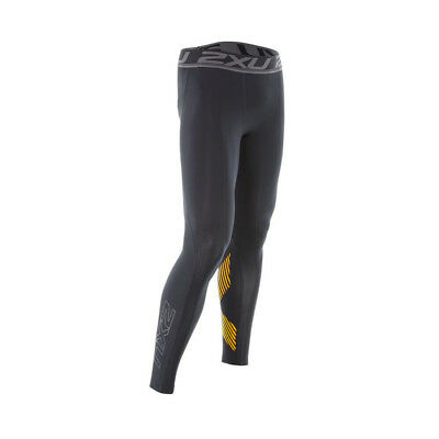 2XU Compression Tight Black/Lime Punch