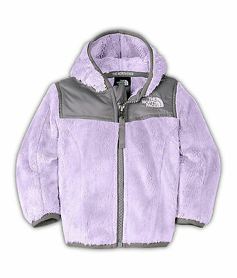 The North Face Girls Infant Bloom Purple Oso Hoodie Jacket 6-12 Months NWT