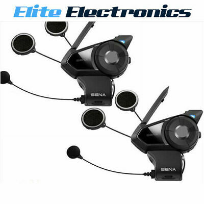 Sena 30K Dual Motorcycle Bluetooth Mesh-Network Communication Intercom Headset