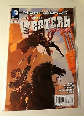 Night of the Owls #9 All Star Western  DC Comics The New 52 Modern Age CB1834