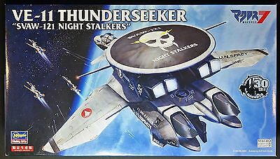 "HASEGAWA Macross7 1/72 VE-11 Thunderseeker ""SVAW-121 Night Stalkers"" Limited kit"