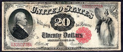 United States: Legal Tender Note, 20 dollars, series 1880, A3050778A, (Pick 1...
