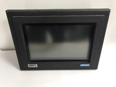 UTICOR PGI 100G-2M1R4 REV C HMI, Operator Interface Touch Screen