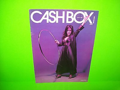 Grace Slick Cover Photo On CashBox Magazine 1980 Great Color Framable Artwork