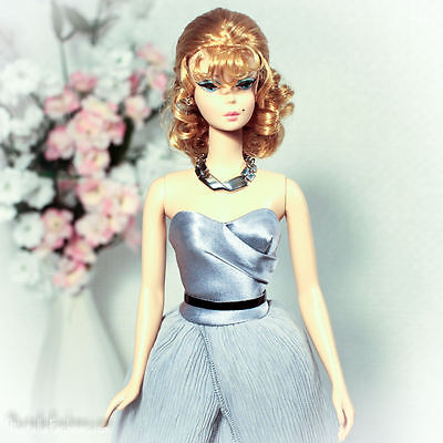 Last One New Dress Only For Barbie Silkstone Veronique Fashion Royalty Doll