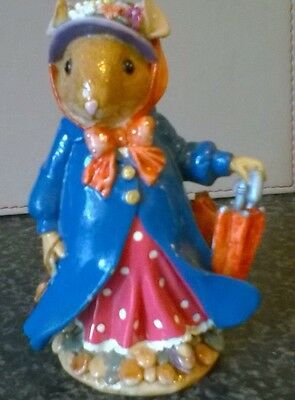 Regency Fine Arts Poppy Meadowsweet Figurine from Tales of Honeysuckle Hill.