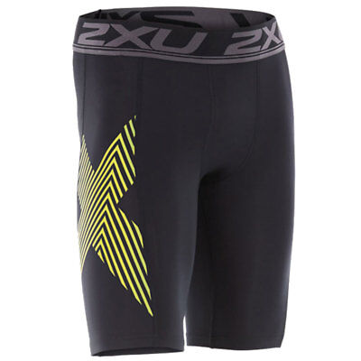 2XU Compression Short Black/Lime Punch