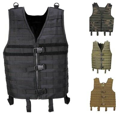 Vest MOLLE Light Modular Army Tactical Vest Usage Gotcha Paintball Camouflage