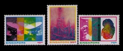 Singapore Stamps,SC# 229-231 Cpl.MH Set,CV:$5