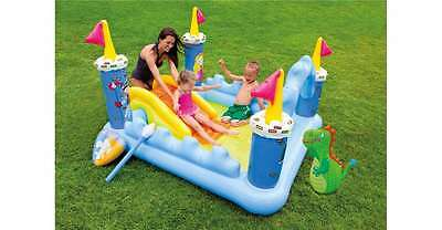 Kids Pool INTEX Fantasy Castle Play Center Inflatable Summer Fun Ages 2+ NEW