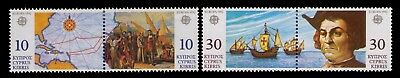 Cyprus 1992 Stamps,Columbus 500 Years Sc# 779a;801a Cpl.MH Set