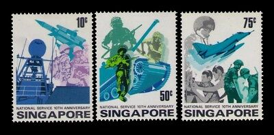 Singapore Stamps,SC# 260-262Cpl. MLH Set CV:$7.50