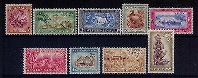 Western Samoa stamps Scott # 203//12 MH Selection, CV:$12.55
