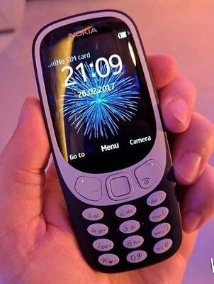 RETRO UK NOKIA 3310 2017 Dual SIM 2MP Camera Special Offer Fantastic REFURBISHED