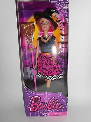 Mattel Barbie Doll Halloween Witch Ages 3+ New