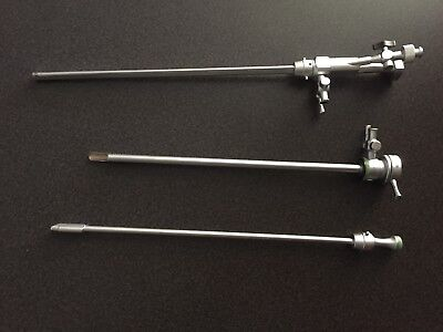 Olympus Laser Cystoscope A2296 Outer Sheath And A2297 Inner Sheath