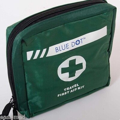 1 One Person HSE First Aid Kit in Green Nylon Pouch