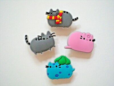 Jibbitz Croc Clog Shoe Charm Button Plug Hole Accessories WristBand Kitty Cat SP