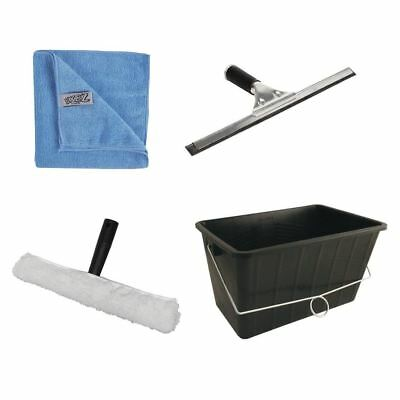 Jantex Window Cleaning Kit 4 Piece Set