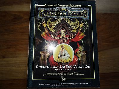 """Dreams of the Red Wizards"" (D&D, AD&D, TSR)"