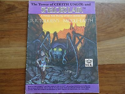 """The Tower of Cirith Ungol and Shelob´s Lair"" -english- (MERP, MERS, Rolemaster)"