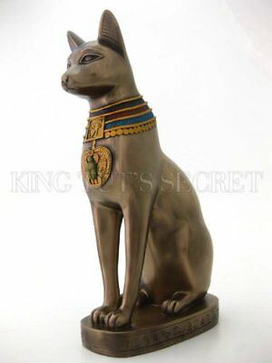 Ancient Egyptian Goddess Bastet Statue - Museum Quality