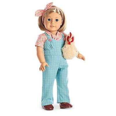 American Girl Kit Special Ed Chicken Keepin Complete New In Box FREE SHIP