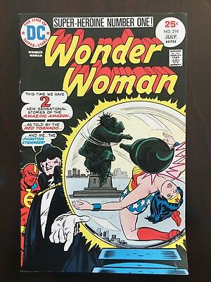 Wonder Woman Comic Lot #218, 222, 269, 270 - High Grade