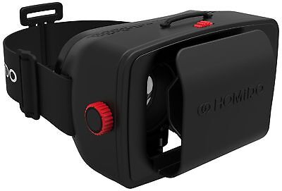 Homido VR Virtual Reality Glasses 3D Wireless Headset for Smartphones RRP:£39.99