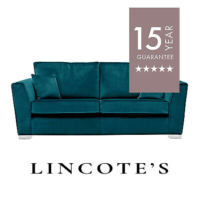 LOBBY Formal-Back Fabric Plush Velvet Sofas 4 + 3 + 2 Seaters + Cuddle Chairs