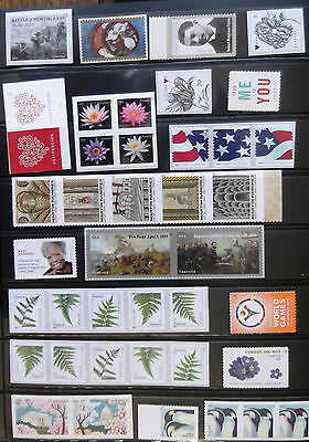 US 2015 Stamps, MNH, 104 stamps, various
