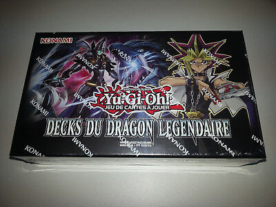 Yu-Gi-Oh! DECKS DU DRAGON LEGENDAIRE NEUF VERSION FRANCAISE