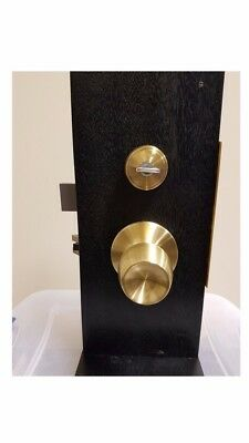 MIWA Brass Lever Knob Set Lock