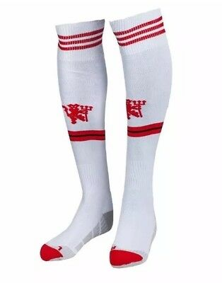 ADIDAS manchester united away football socks [white]