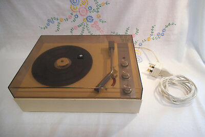 Vintage Europhon 'Minuette' Record Player - c. 1970's - No Speakers - Untested