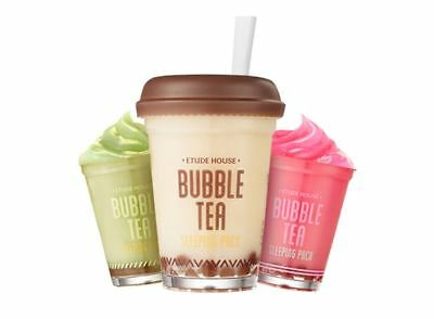 Etude House Bubble Tea Sleeping Pack 100g + Free Sample/ Korean Cosmetics UK