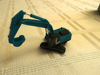 N Scale Fujimoto Hitachi ZX330 Excavator Blue Construction Equipment