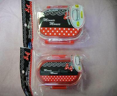 Disney MINNIE Lunch Box 2Types NEW FREE SHIPPING!!