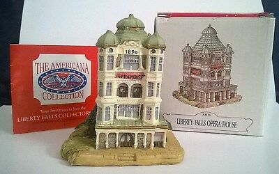 The Americana Collection Liberty Falls Opera House Collector's Club AH26 w/ Box