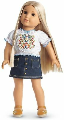 American Girl Doll Julie's Peasant Top Outfit - New in Box