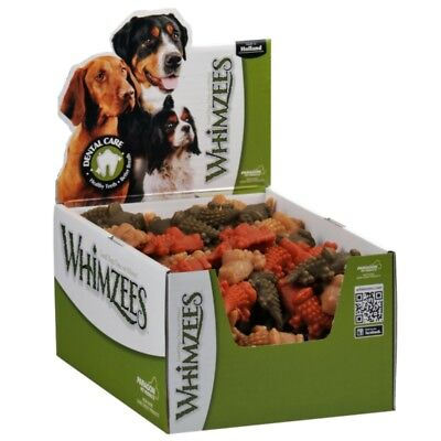 Whimzees Alligator Small Box 150 Treats - Vegetable Natural Grain Free Dog Chew