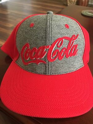 Mens Coca Cola Hat. (New Fitted M/L)