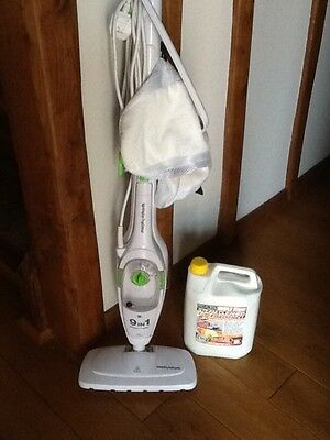 Morphy Richards upright and handheld steam cleaner
