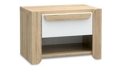 Modern Bedside Table / Cabinet / Drawers / Nightstand / Unit OAK EFFECT **New**