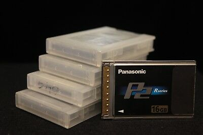 Panasonic P2 16gb Memory card