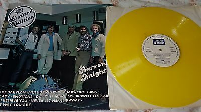 The Barron Knights - Yellow vinyl LP - signed / autographed (1981) STA 1018