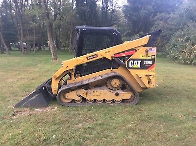 CAT 289D Track Skid Steer w/ attachments