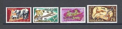 NIGERIA 1965 Footnote to SG 172/85 MNH
