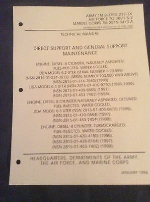 TM 9-2815-237-34 HUMVEE Engine Maintenance Manual