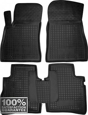 Rubber Carmats for Nissan Sentra 2014- All Weather Floor Mats Fully Tailored